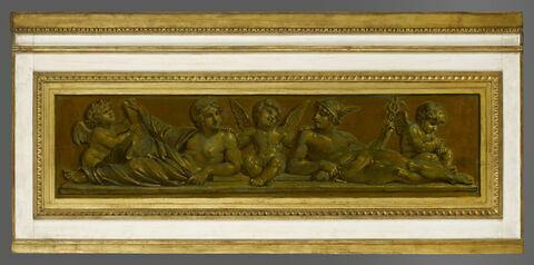 face, recto, avers, avant ; vue d'ensemble ; vue avec cadre © 2009 RMN-Grand Palais (musée du Louvre) / Stéphane Maréchalle