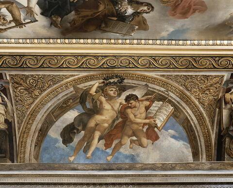face, recto, avers, avant ; vue d'ensemble ; vue avec cadre © 1991 RMN-Grand Palais (musée du Louvre) / Hervé Lewandowski