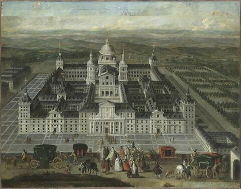 Vue de l'Escorial