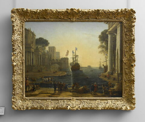 face, recto, avers, avant ; vue d'ensemble ; vue avec cadre © 2008 RMN-Grand Palais (musée du Louvre) / Jean-Gilles Berizzi