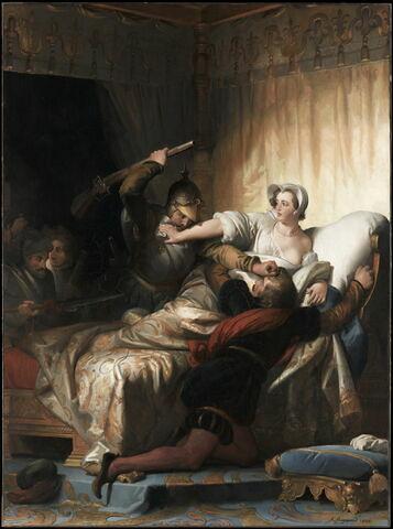 Scène du massacre de la Saint-Barthélemy (24 août 1572)