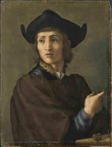 Portrait d'un graveur de pierres fines (parfois identifié avec Giovanni Delle Corniole, Michelino di Paolo Poggini ou Domenico di Polo)