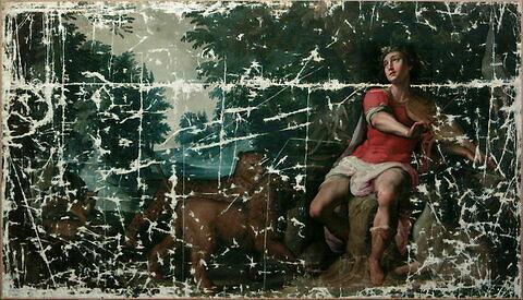 face, recto, avers, avant ; vue d'ensemble ; vue sans cadre © 2000 Musée du Louvre / Peintures