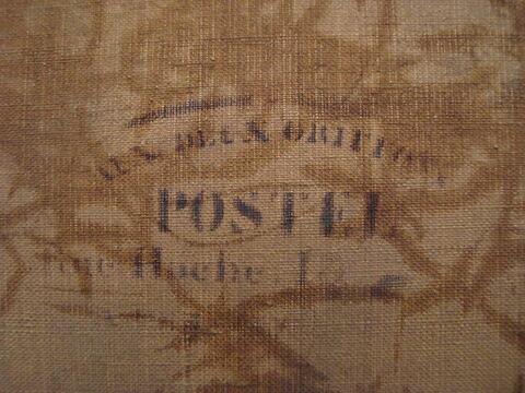 dos, verso, revers, arrière ; détail estampille © 2013 Musée du Louvre / Peintures