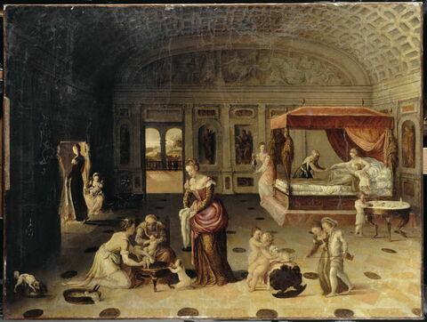 Allégorie de l'enfance (?), dit auparavant La Naissance de saint Jean Baptiste