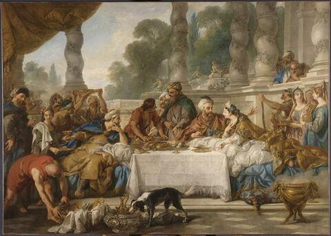 Le repas d'Esther et d'Assuérus