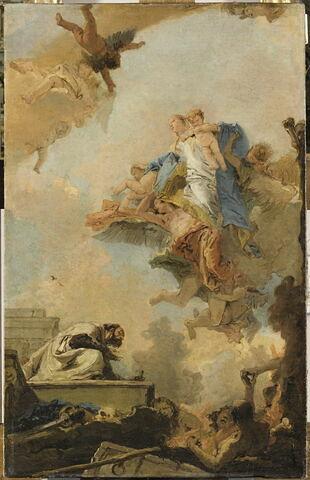 La Vierge du Carmel apparaît à saint Simon Stock (1175-1265)