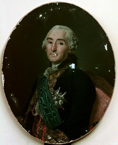 Portrait de César-Gabriel de Choiseul, duc de Praslin (1712- 1785)