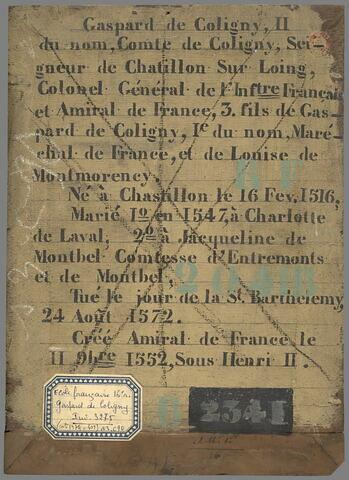 dos, verso, revers, arrière ; vue d'ensemble ; vue sans cadre © 2019 RMN-Grand Palais (musée du Louvre) / Stéphane Maréchalle