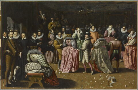 Bal à la cour de Henri III