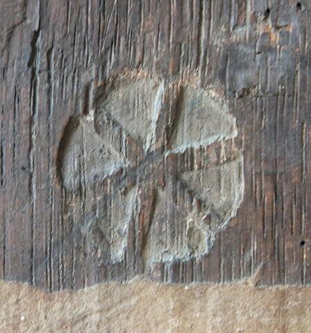 dos, verso, revers, arrière ; détail marque au fer © 2015 Musée du Louvre / Peintures