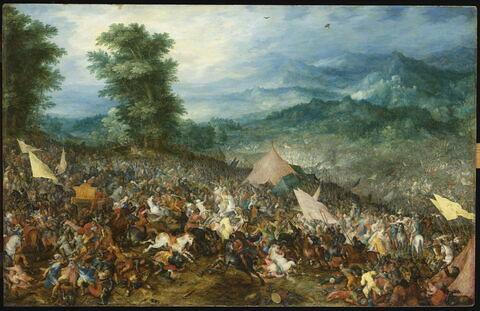 La Bataille d'Issus, dit autrefois La Bataille d'Arbelles