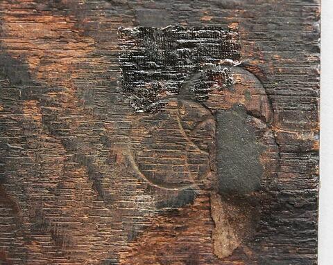 dos, verso, revers, arrière ; détail © 2017 Musée du Louvre / Peintures