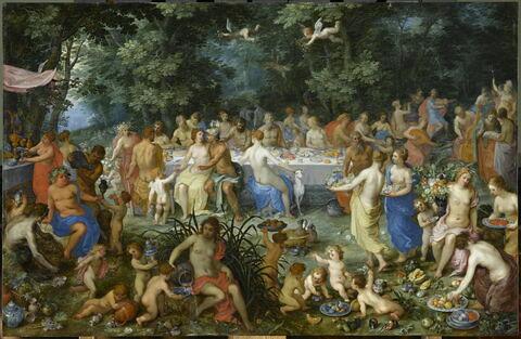 Les Noces de Thétis et de Pélée avec Apollon et le concert des Muses