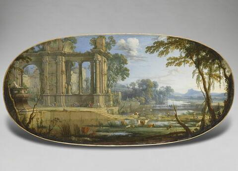 face, recto, avers, avant ; vue d'ensemble ; vue sans cadre © 2007 RMN-Grand Palais (musée du Louvre) / Franck Raux