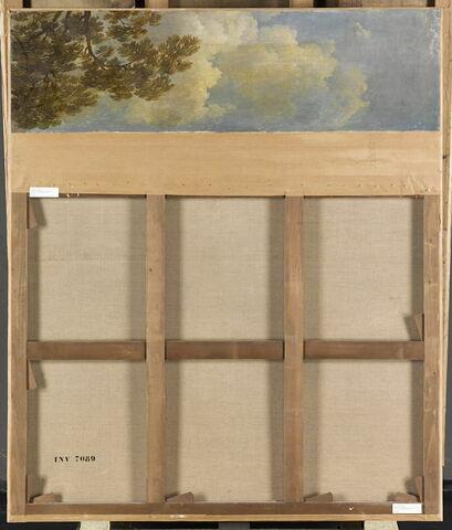 dos, verso, revers, arrière ; vue d'ensemble ; vue sans cadre © 2014 RMN-Grand Palais (musée du Louvre) / Franck Raux