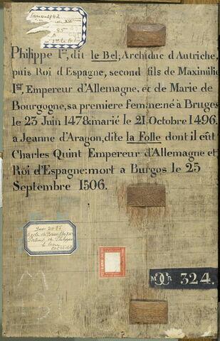 dos, verso, revers, arrière ; vue d'ensemble ; vue sans cadre © 2007 RMN-Grand Palais (musée du Louvre) / Gérard Blot