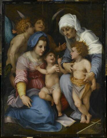 La Vierge, l'Enfant Jésus, sainte Élisabeth, le petit saint Jean Baptiste et deux anges, dit La Sainte Famille aux Anges