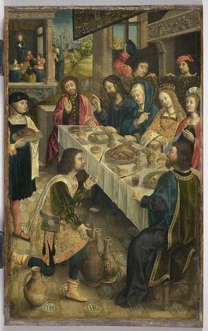 Les noces de Cana. Saint Jean l'Évangéliste