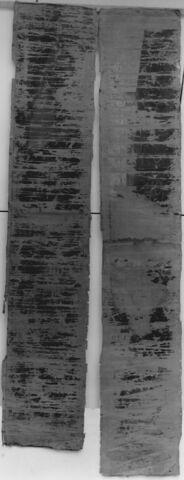 Deux bandes de tapisserie