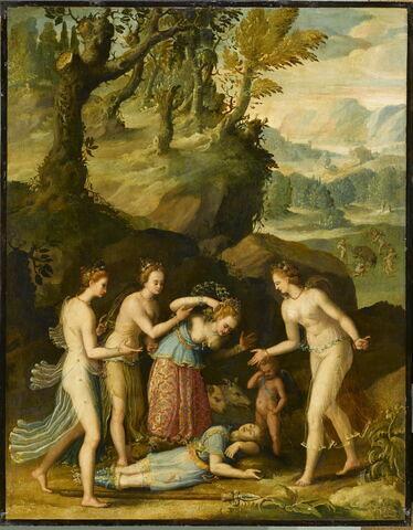 Vénus pleurant la mort d'Adonis