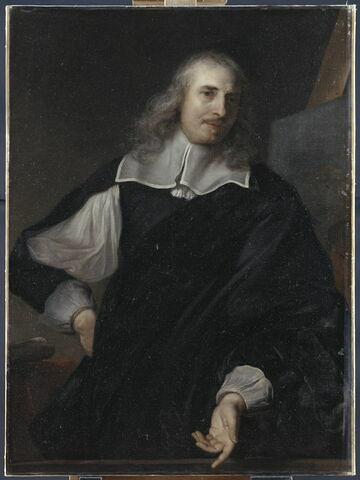 Portrait du peintre Michel Corneille le père (1601-1664), recteur de l'Académie royale de peinture depuis 1656