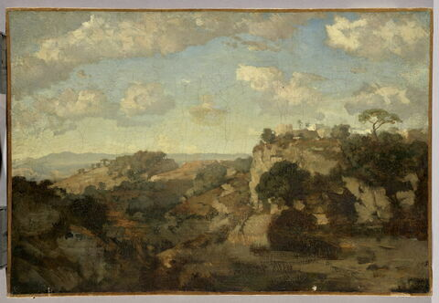 Vue des environs de Thiers (Puy-de-Dôme)