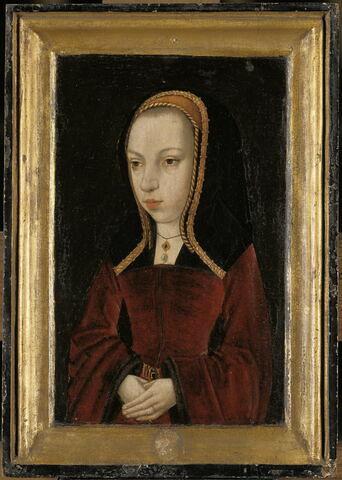 Portrait de la jeune Marguerite d'Autriche (1480-1530)