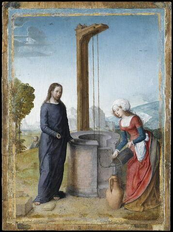 Le Christ révélant à la Samaritaine qu'il est le Messie