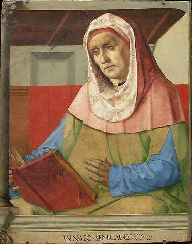 face, recto, avers, avant ; vue d'ensemble ; vue sans cadre © 2005 Musée du Louvre / Peintures