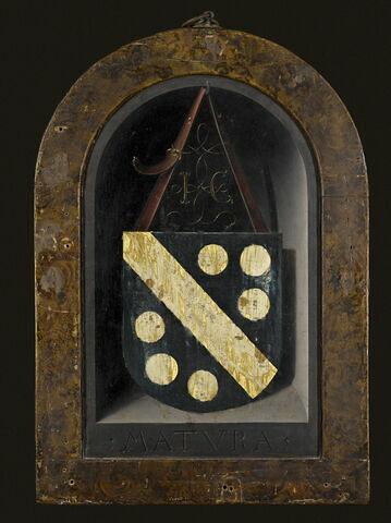 dos, verso, revers, arrière ; vue d'ensemble ; vue avec cadre © 2008 RMN-Grand Palais (musée du Louvre) / Jean-Gilles Berizzi