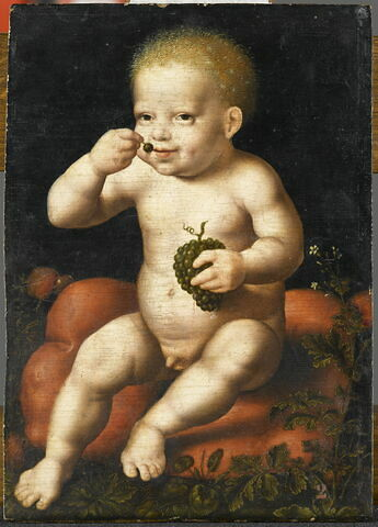 L'Enfant Jésus à la grappe de raisin