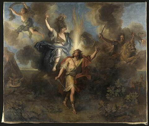 Départ d'Achille pour venger la mort de Patrocle