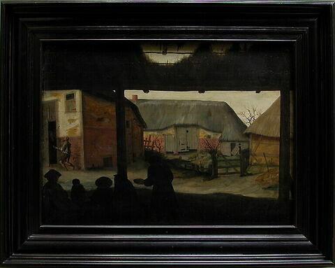 face, recto, avers, avant ; vue d'ensemble ; vue avec cadre © 2005 Musée du Louvre / Peintures