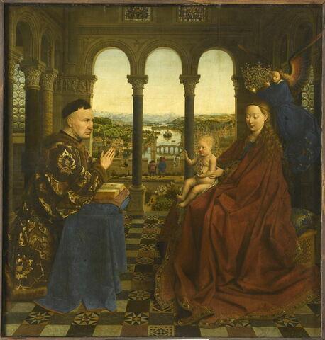 La Vierge et l'Enfant au chancelier Rolin