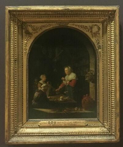 vue avec cadre ; vue d'ensemble ; face, recto, avers, avant © 2018 Musée du Louvre / Peintures