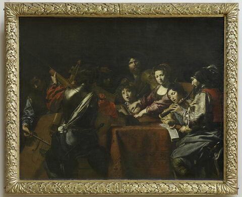 face, recto, avers, avant ; vue d'ensemble ; vue avec cadre © 2011 RMN-Grand Palais (musée du Louvre) / Martine Beck-Coppola