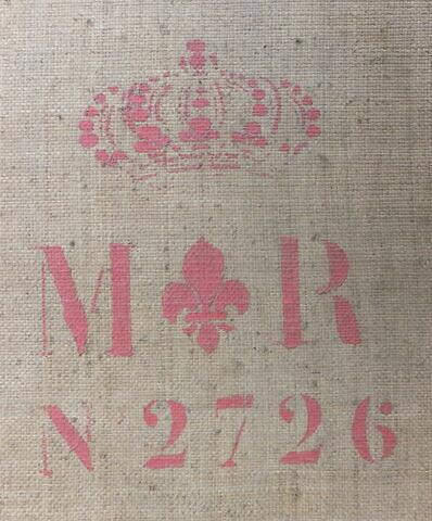 dos, verso, revers, arrière ; détail marquage / immatriculation © 2013 Musée du Louvre / Peintures