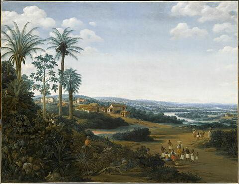 « La demeure d'un labrador » (planteur de canne à sucre), dit auparavant Le Village de Serinhaem (en Pernambouc)