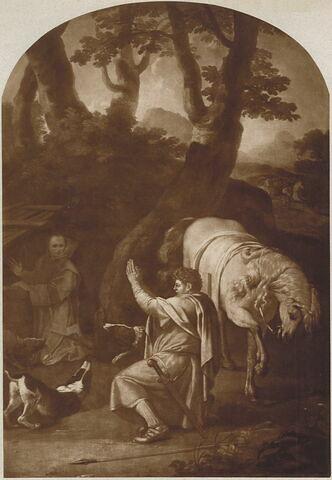 Rencontre de saint Bruno et du comte Roger