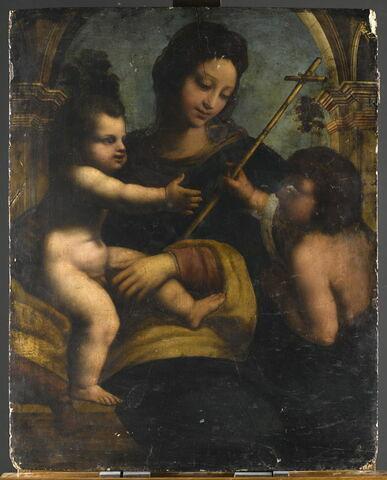 La Vierge à l'Enfant et le jeune saint Jean Baptiste