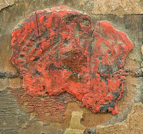 dos, verso, revers, arrière ; détail cachet © 2003 Musée du Louvre / Peintures
