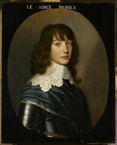 Portrait d'Édouard de Bavière (1625-1663), prince palatin