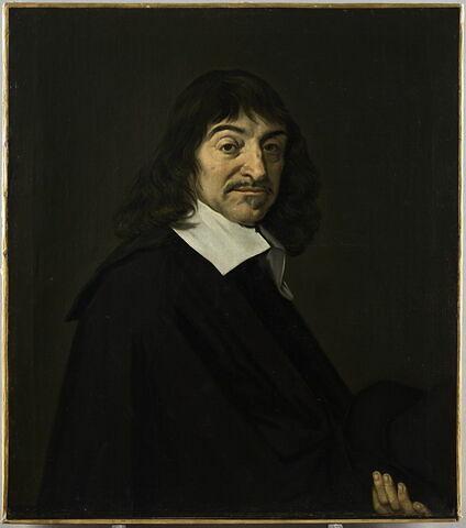 Portrait de René Descartes (1596-1650) philosophe
