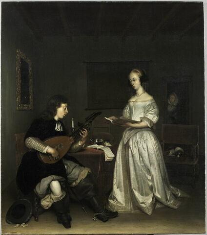 Le Duo: chanteuse et joueur de luth théorbé