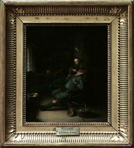 face, recto, avers, avant ; vue d'ensemble ; vue avec cadre © 2000 Musée du Louvre / Peintures
