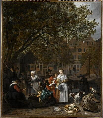 Le marché aux herbes d'Amsterdam