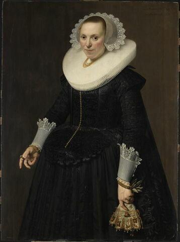 Portrait d'une femme âgée de trente-quatre ans