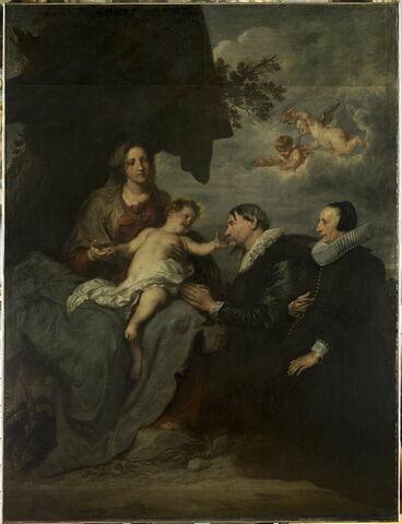La Vierge aux donateurs ou La Vierge et l'Enfant avec deux orants à genoux