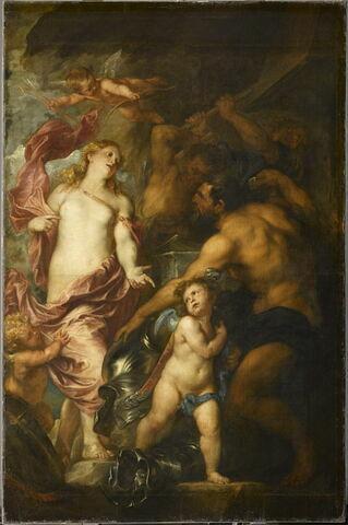 Vénus fait forger par Vulcain des armes pour son fils Énée